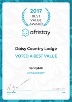 Daisy Country Lodge afristay small